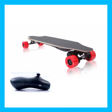 Sport Wireless Remote Control Red Electric Skateboard